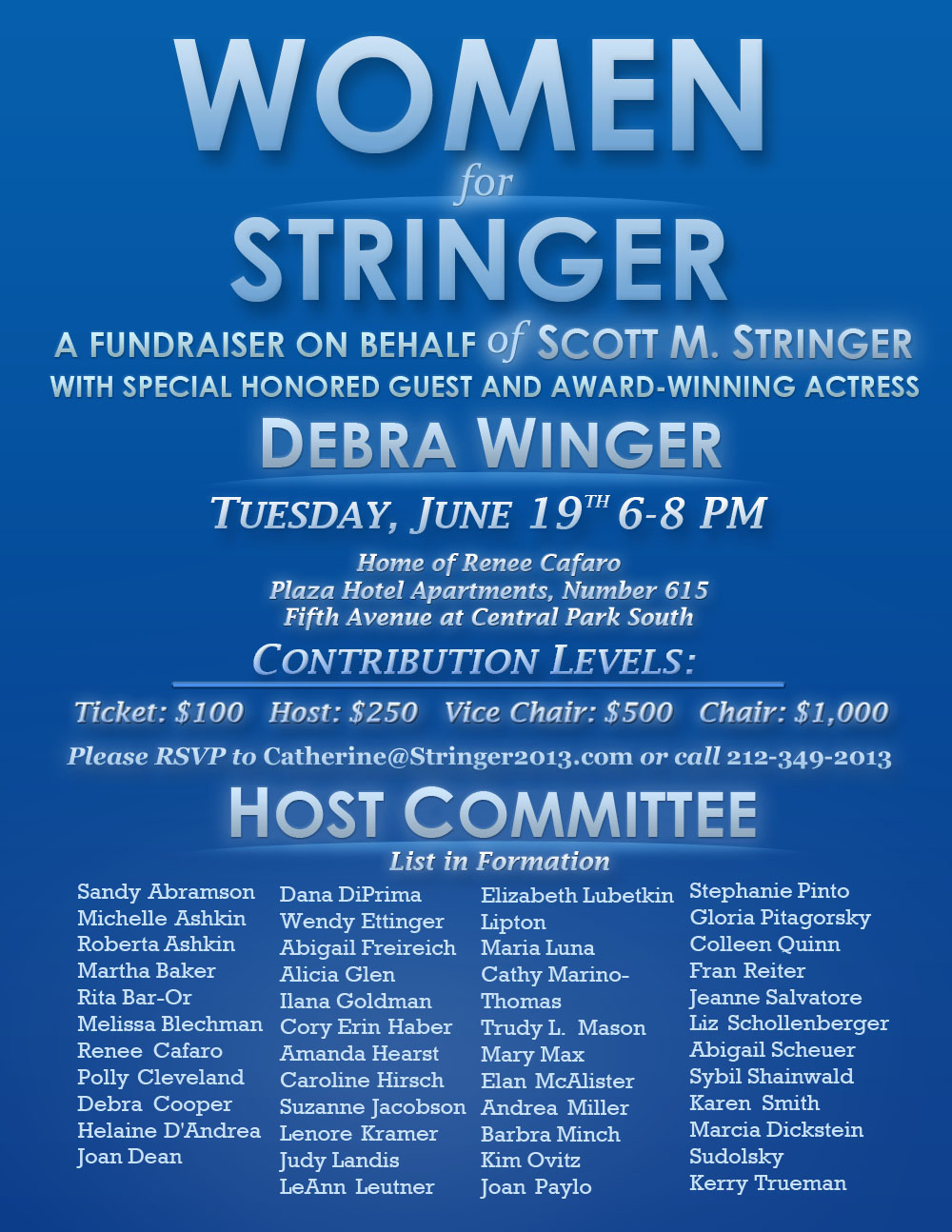 Women for Stringer