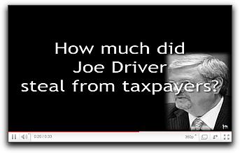 Joe Driver: Dishonest