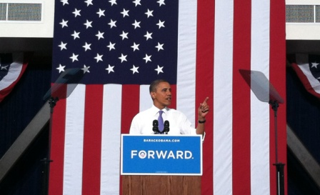 President Obama at TMCC