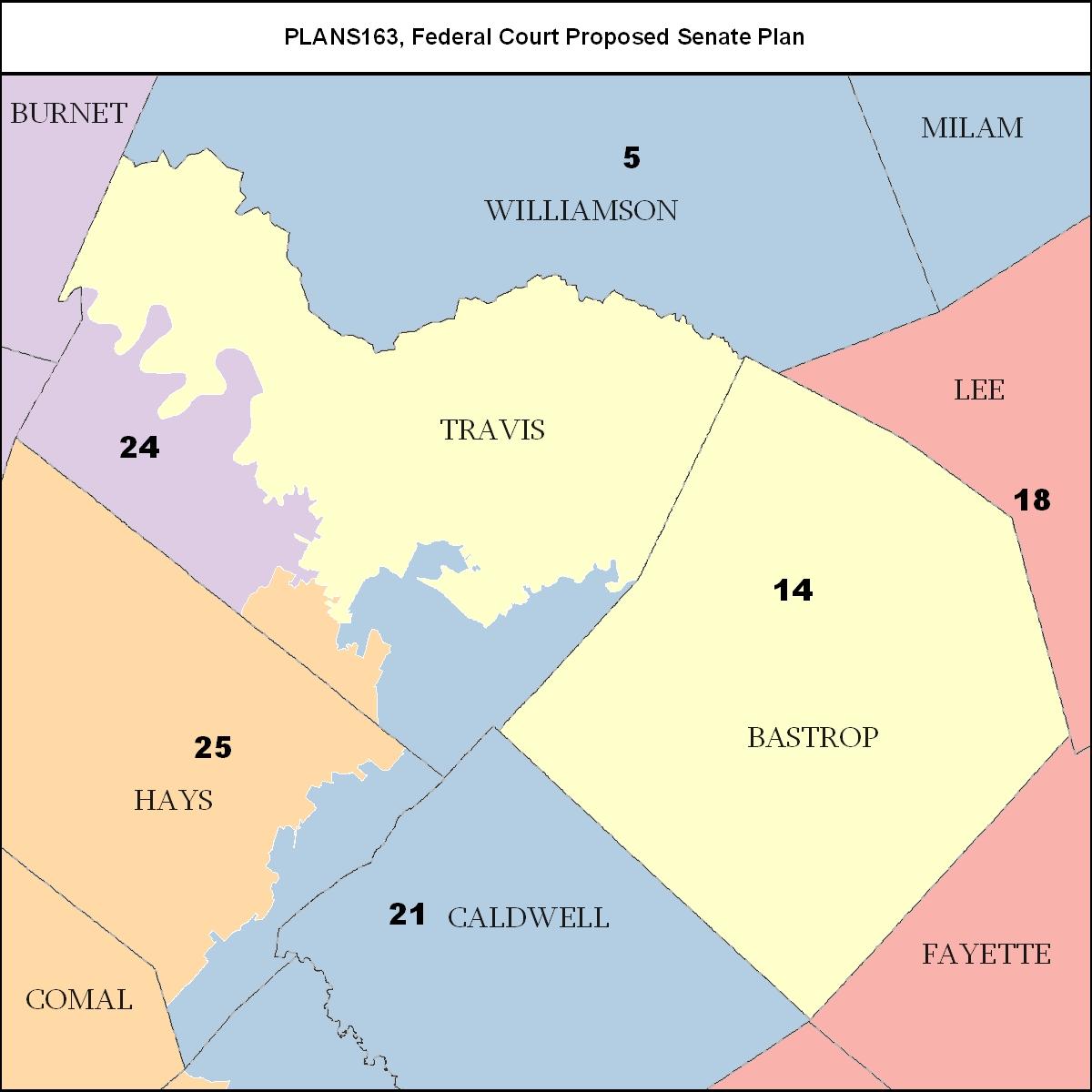 State Senate Map