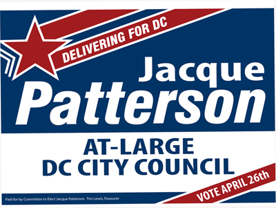 Patterson Yard Sign