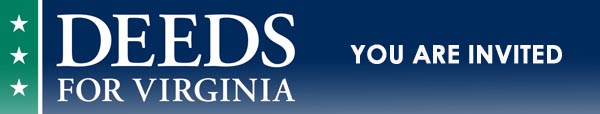 Deeds for Virginia - You are Invited