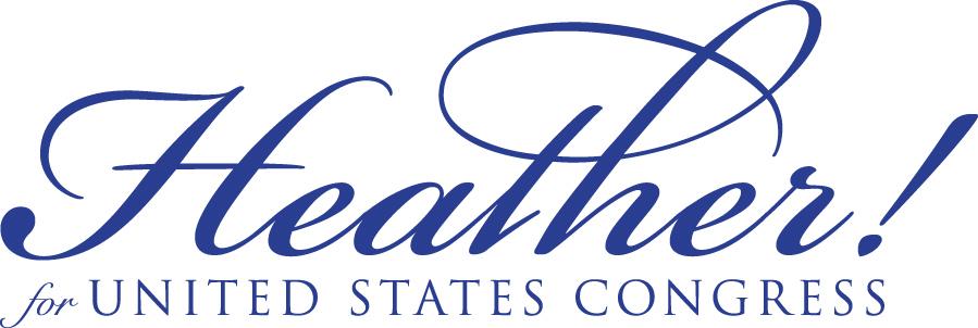 Heather for Congress logo